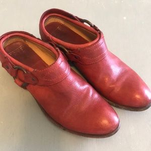 Frye clog Carson booties